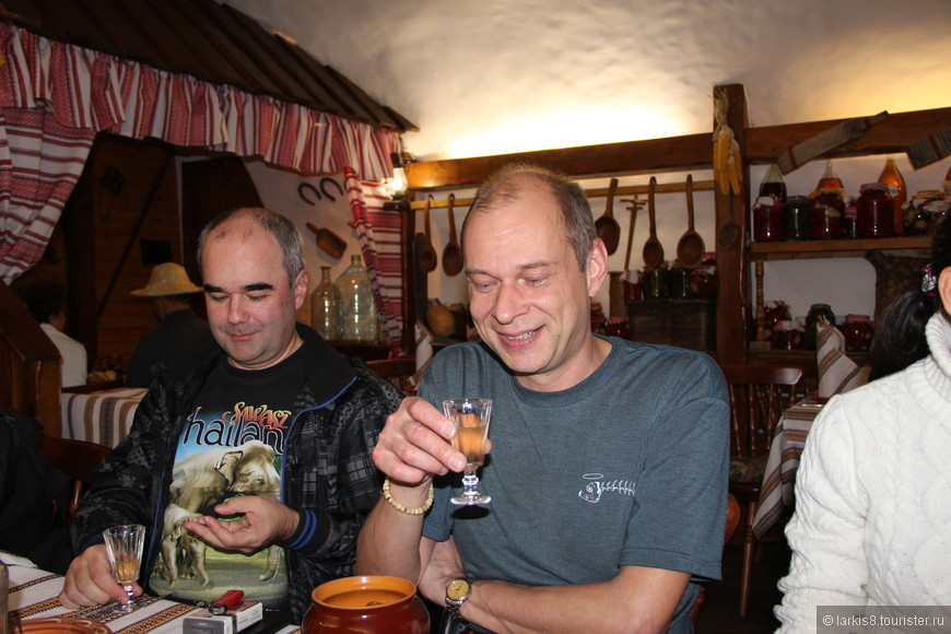 Но хреновуха была самым лучшим напитком в тот вечер!