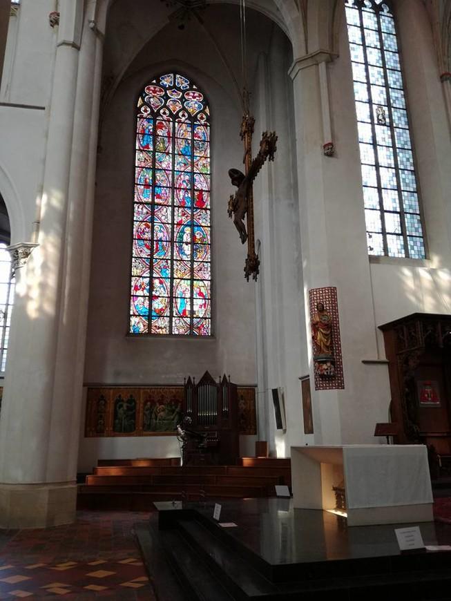 Церковь Св. Екатерины сохранила убранство протестантской церкви. Официальное возвращение католической епархии случилось в 1840 году. Реставрационные работы продолжались с 1955 по 1970 год. Церковь открыта по субботам в зимний период. При церкви есть музей посвященный истории религии в Утрехте и в целом в Нидерландах.