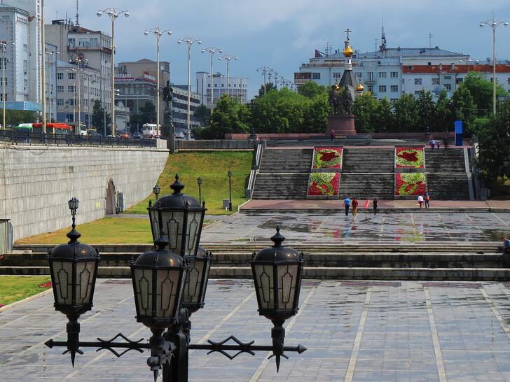 Плотинка и Исторический сквер © Татьяна Васильева