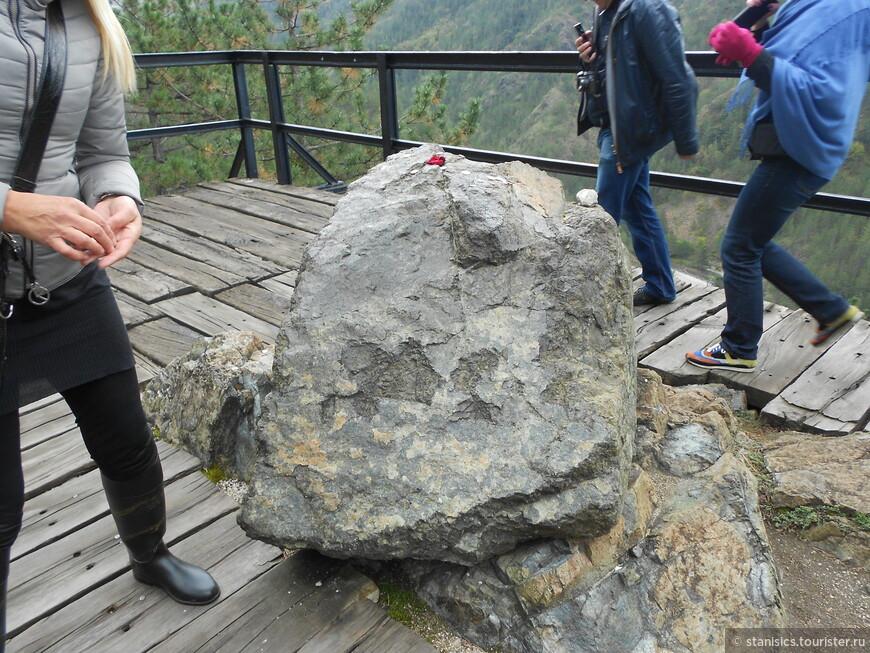 Остановка Луди-камен (камень)