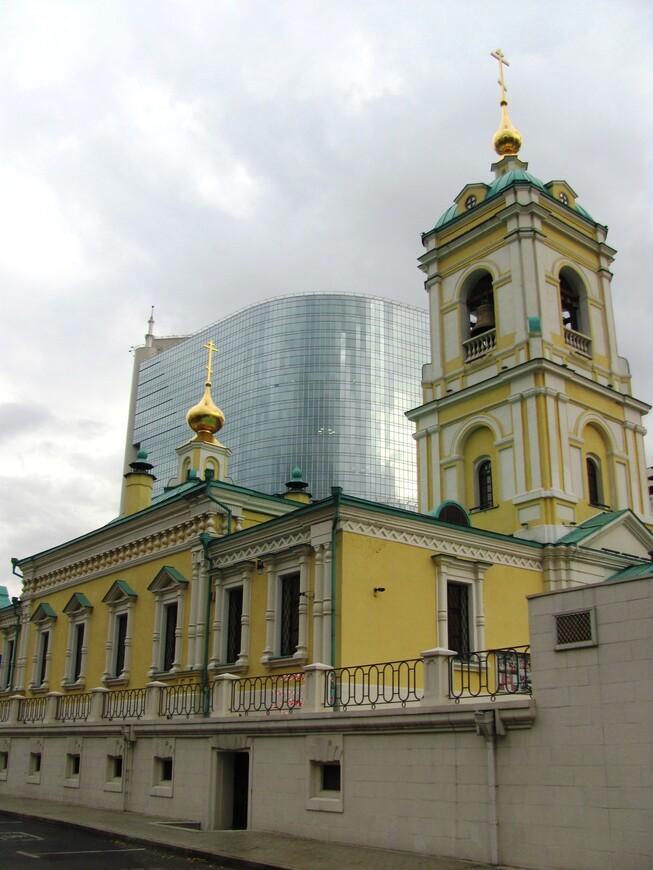 Храм Преображения Господня в Преображенском.