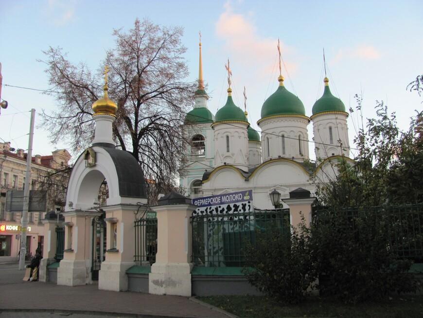 Храм Живоначальной Троицы в Листах. Морской.
