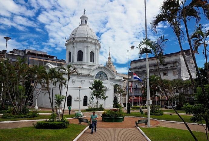 Нуэстра Сеньора и военный флот Парагвая