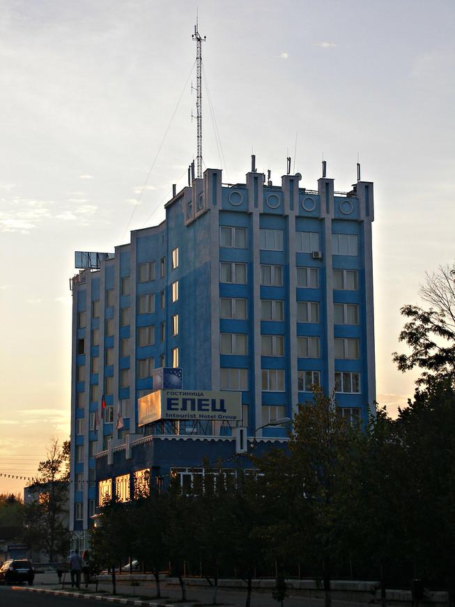 """Гостиница """"Елец"""" - место нашей ночевки."""