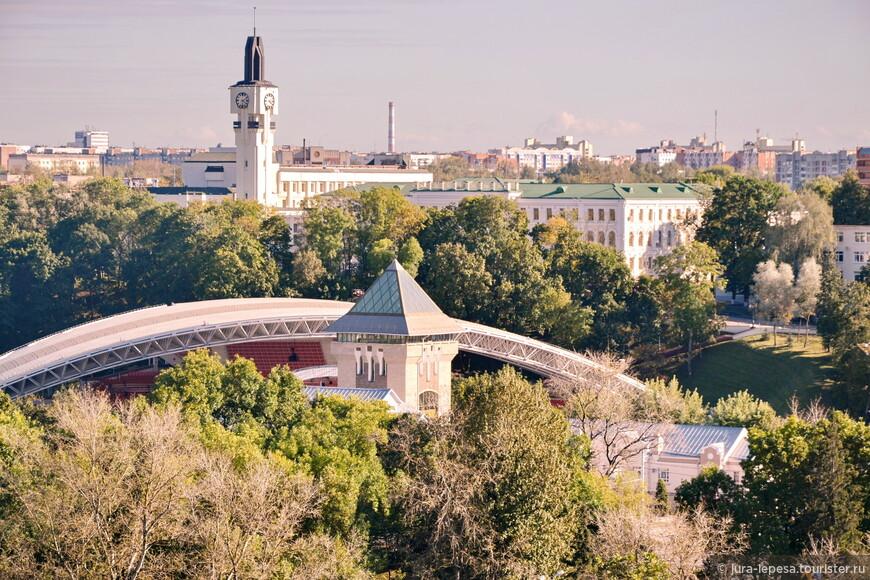 Витебск не зря называют северной столицей Беларуси, он очень красивый.