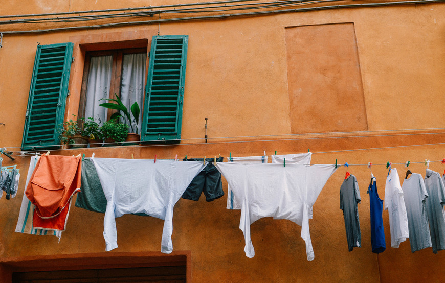 В Тоскане каждый уголок это произведения искусства, особенно окна и ставни.