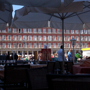 На яхте вокруг Канар. На подступах. Мадрид.