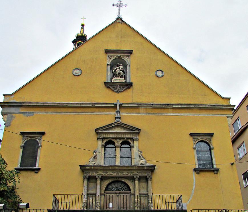 Долац. Барочная церковь Девы Марии.