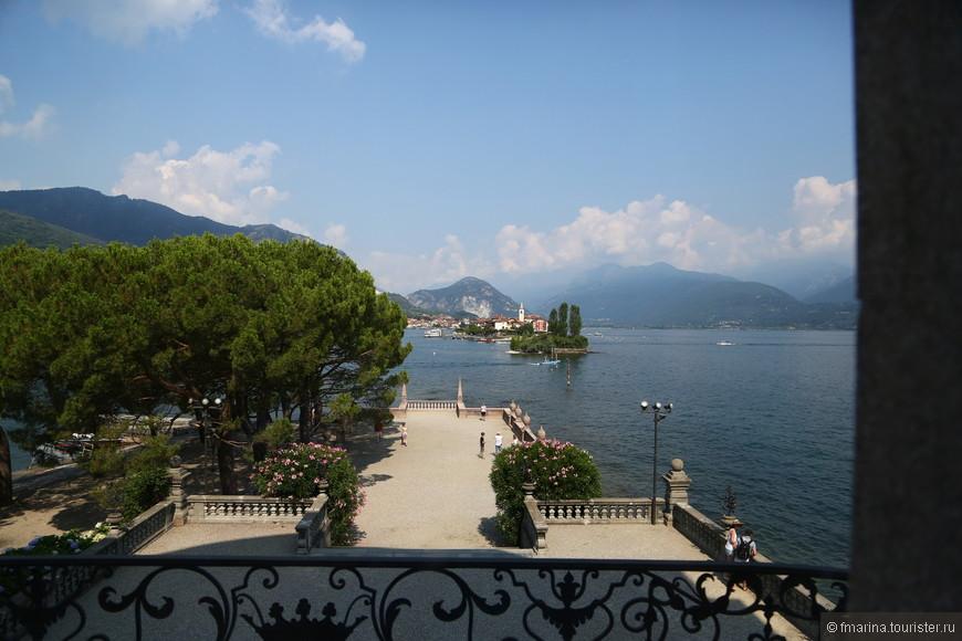 Например, посмотреть еще раз на Изола-дей-Пескатори и Альпы...