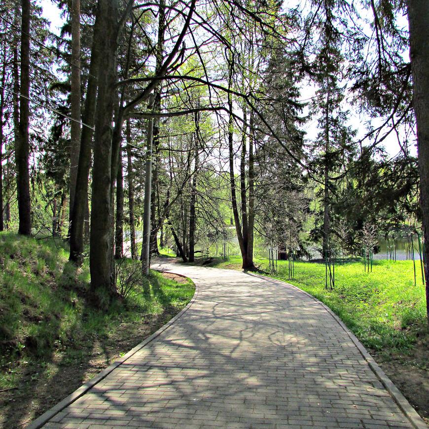 Окрестности Захарово очень живописны.