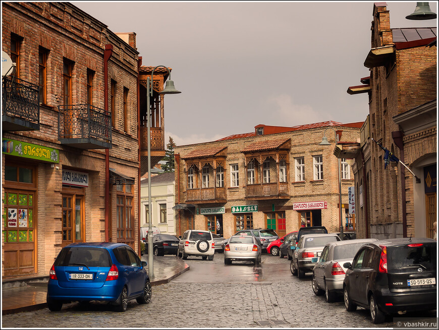Улицы в Гори.