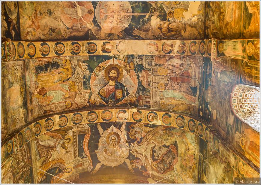 Убиси. Фрески, выполненные художником Дамиане (IV век).