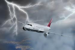 Молния прожгла фюзеляж самолета, летевшего из Мюнхена в Москву