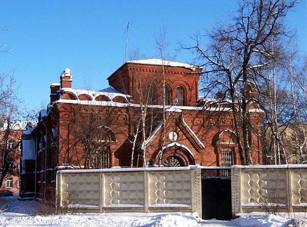 Фото из интернета. Здание церкви в конце 20 века.