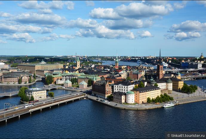 По Стокгольму в компании  Лисбет Саландер и Stockholm Pass