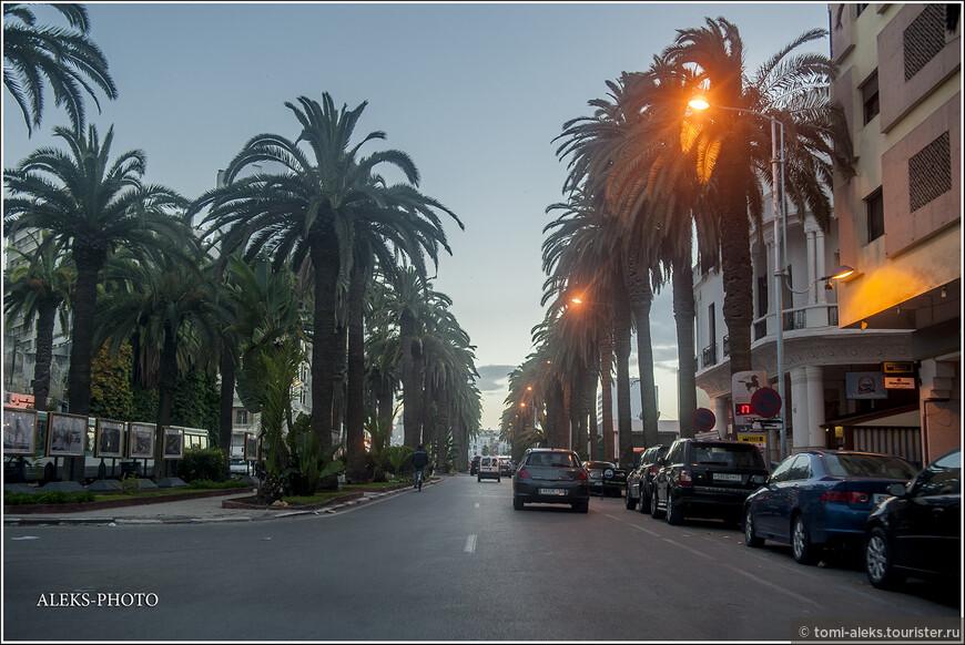 Вернувшись в центр, мы успели еще немного погулять в современной части города.