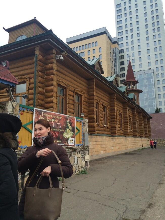 главный вход в татарскую деревню