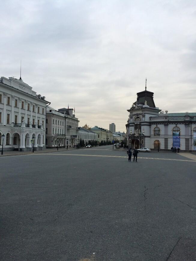 вид на город со стороны кремля