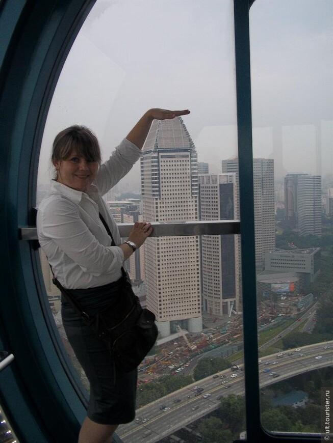 колесо сингапур ай. говорят, что самое большое в мире