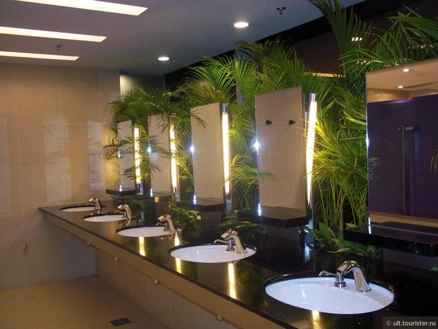 туалет. зеленый, чистейший. смыв за секунды + всякие примочки. лучше удобств я не видела. может, в японии, но еще не была