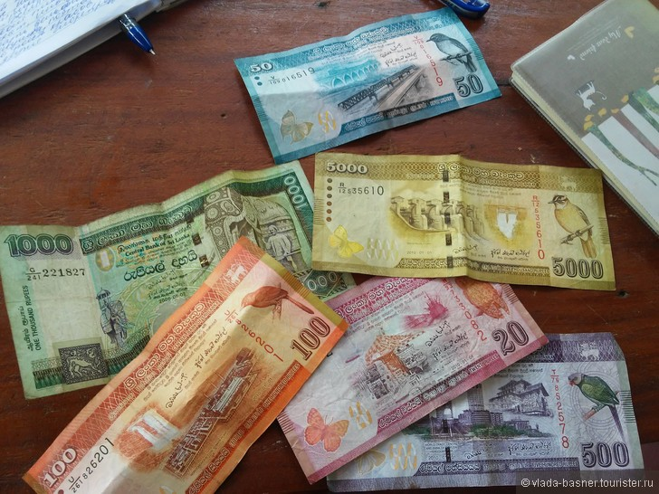 Деньги и цены на Шри-Ланке