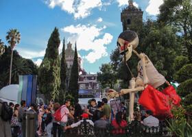 День Мертвых в Пуэбле, Мексика