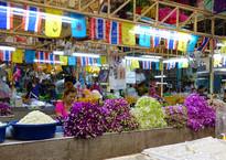 Бангкок. Цветочный рынок Pak Khlong Talat.