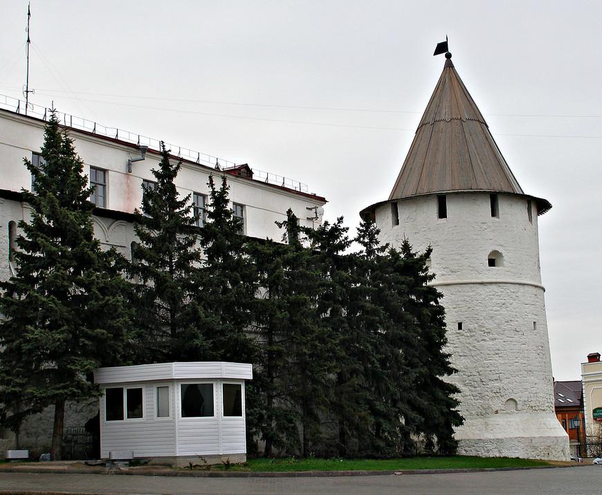 Казанский кремль. Юго-Восточная башня.