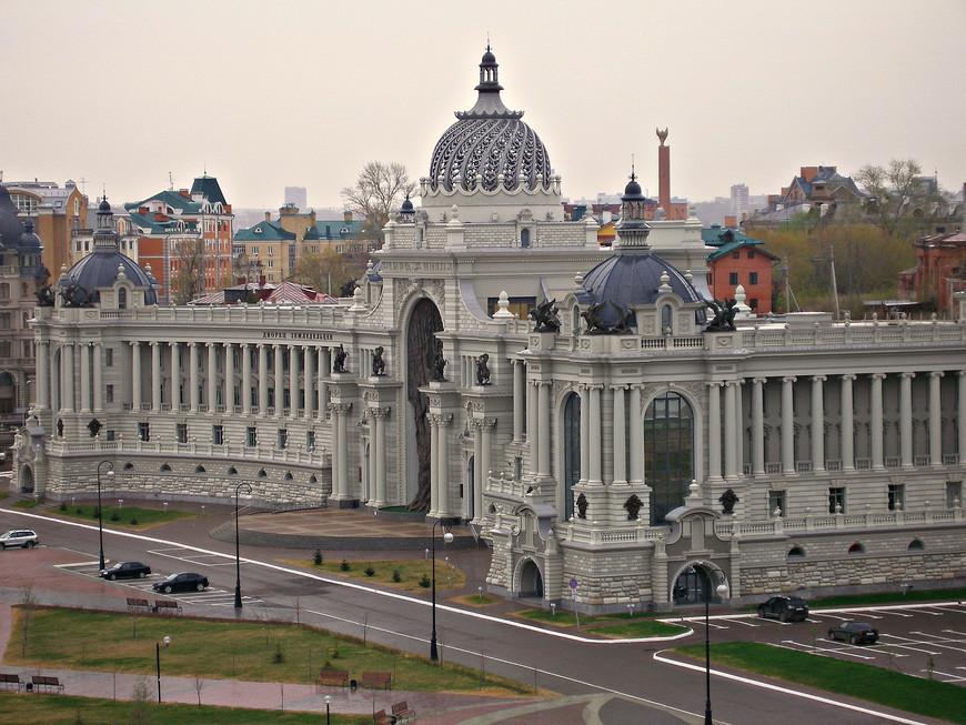 Вид с кремлевского холма.. Министерство сельского хозяйства.