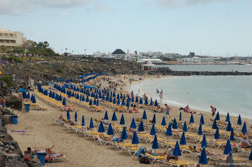 Последний взгляд на пляж.