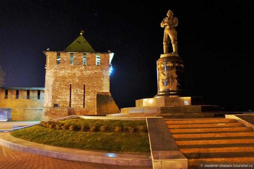 Памятник В.П.Чкалову.
