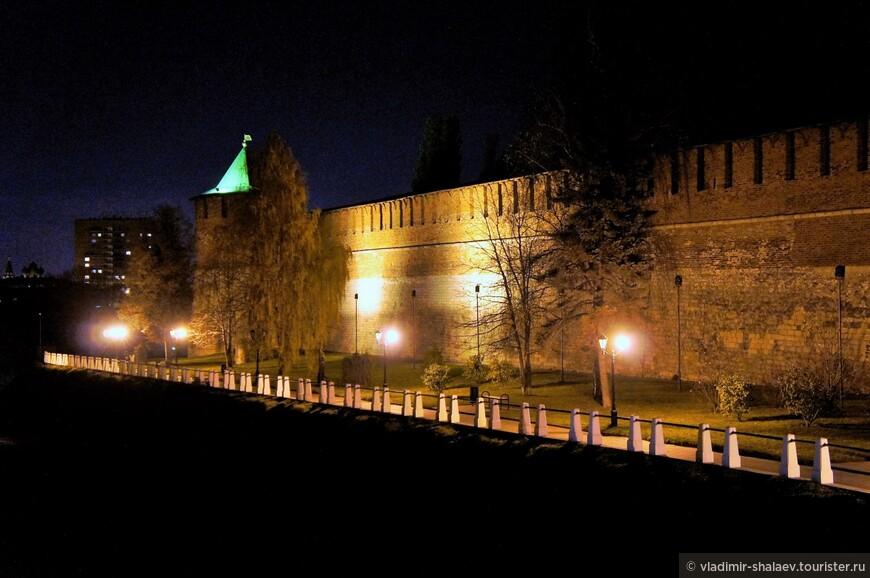 Коромыслова башня Нижегородского кремля.