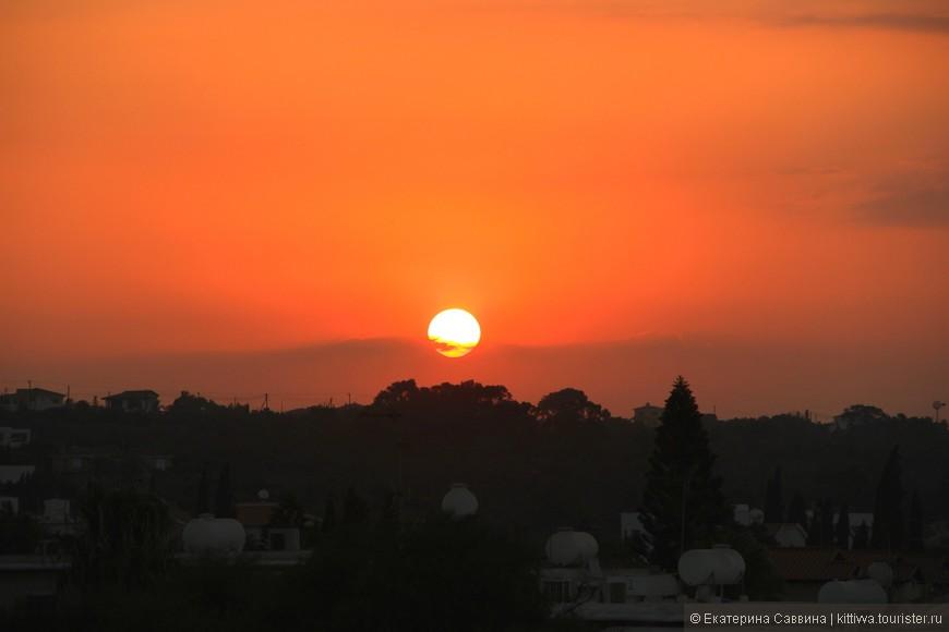 Кипрские закаты