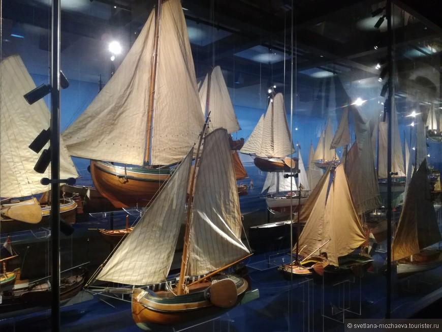 Модели парусных судов.