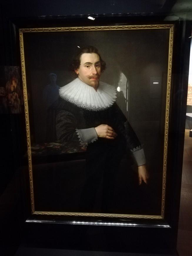 Корнелис де Граф, бургомистр Амстердама, и один из 17 основателей Ост-Индской компании. Это очень известный человек в истории Голландии.