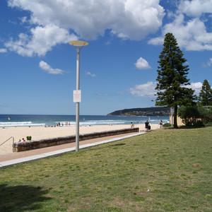 мой первый снимок в Австралии, пляж Мэнли