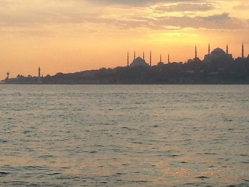 Закат Стамбула