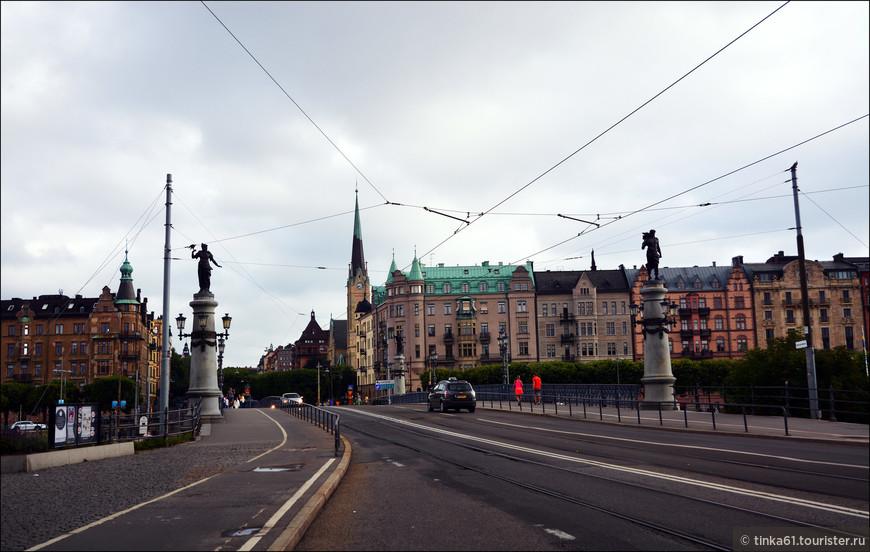 Мост между Юргорденом и Эстермльмом.