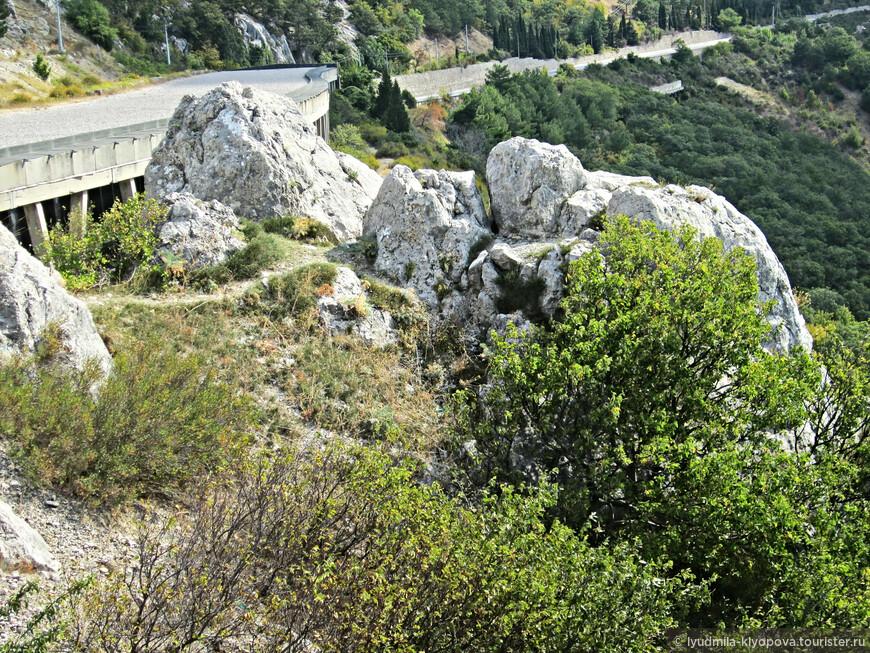 Следующая остановка – Ласпинский перевал – самая высокая точка на шоссе Ялта – Севастополь. Перевал находится на высоте 700 м над уровнем моря.