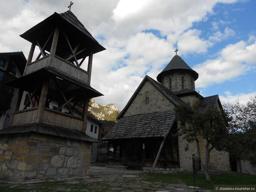 Благовещенский монастырь - в Овчарско-Кабларском ущелье