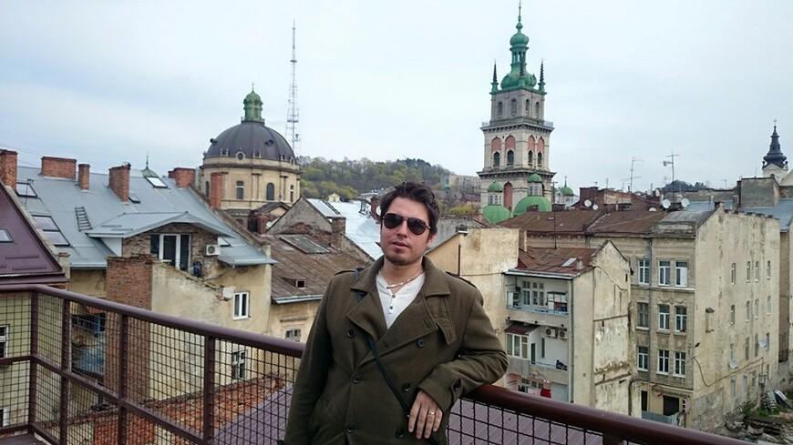 Львов ,Старый город . красота как маленкая Прага