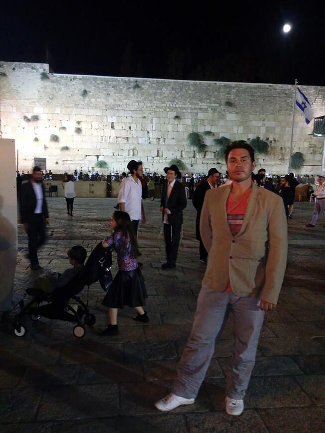 Израиль- Иерусалим стена плача . yom kippur