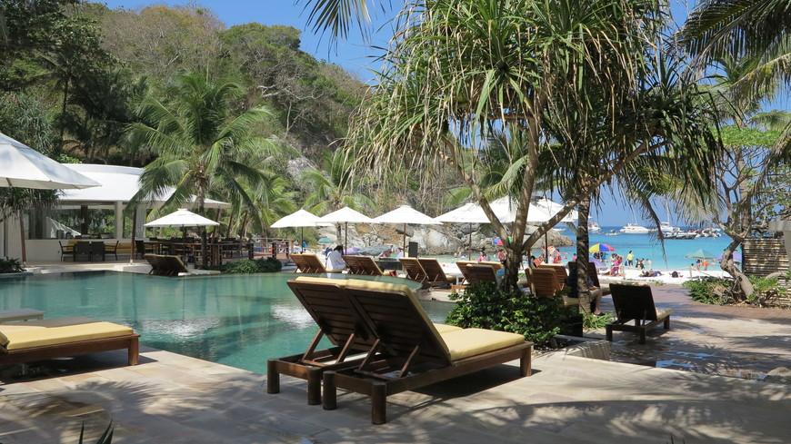 Отель на острове Рача