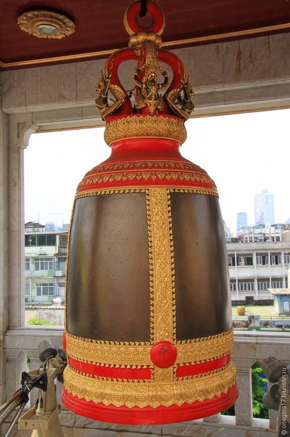 Тайцы верят, что голос большого колокола, это голос самого Будды.