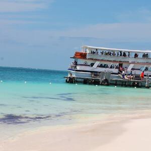 Райский остров в Карибском море