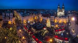 Рождественские базары в Праге откроются 26 ноября