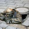 Екатеринбург. Памятник сантехнику Афоне.
