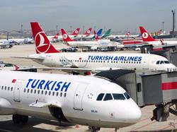 Turkish Airlines отказывается от 17 международных рейсов