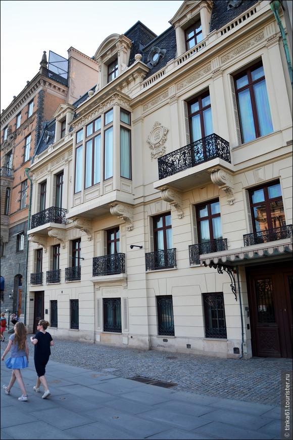 Дворец  Sagerska huset , официальная резиденция премьер-министра Швеции.