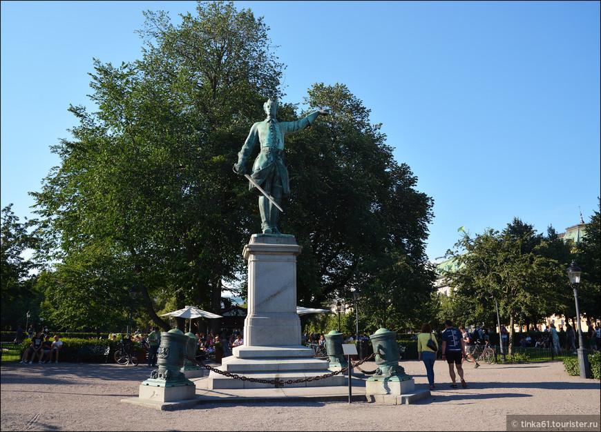 Памятник Карлу ХII на одноимённой площади Karl XII:s torg.